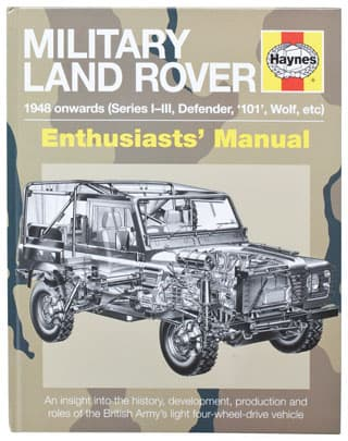 Military Land Rover 1948 Onwards - Series, Defender, 101, Wolf, Etc