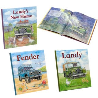 BOOKS SET OF 3 CHILDRENS LANDY