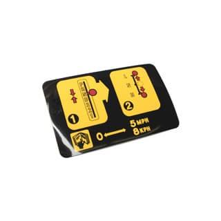 LABEL - INSTR TRANSFER BOX