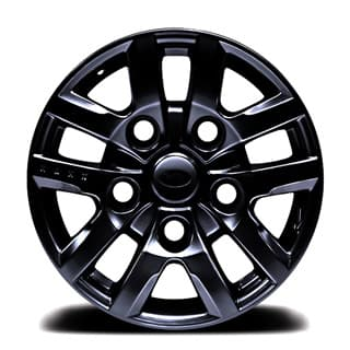 "KAHN ALLOY WHEEL 16"" x 8"" BLACK"