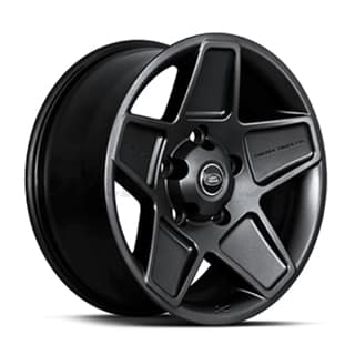 "Kahn Alloy  Wheel 20"" X 9"" Mondial Black"