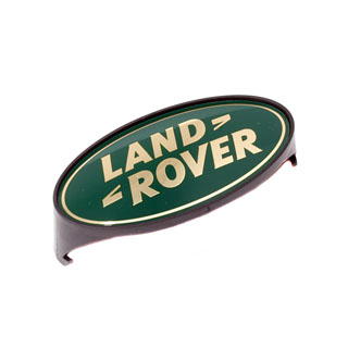 GRILLE BADGE LAND ROVER DEFENDER 90 / 110 GREEN & GOLD