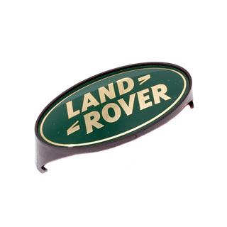 Grille Badge Land Rover Defender 90 / 110 Green & Gold