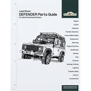 Land Rover DEFENDER Parts Guide For North American Owners