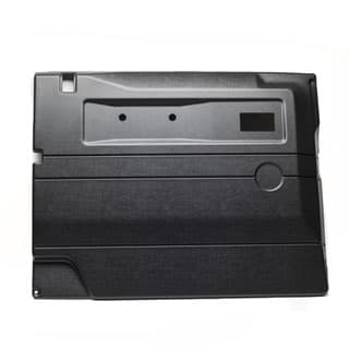 Interior Trim LHF Door Def Blk w/Ele Win