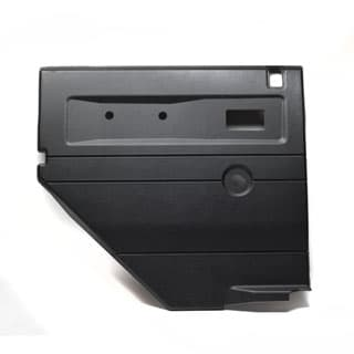 Trim Panel LHR Side Door - 110 SW Black w/Central Locking