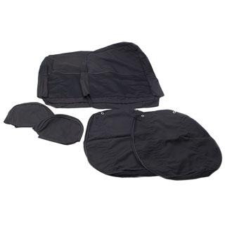 Seat Covers (Pr) Front Puma 07+ Black Ca