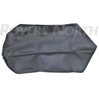 SEAT COVER TIP UP BASE BLACK VINYL