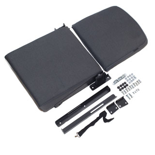 REAR JUMP SEAT - BLACK FRAME - TWILL VINYL