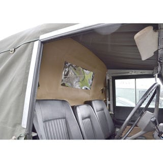 Land Rover Defender Load Curtains