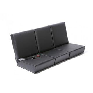 STANDARD FRONT SEAT SET, BASIC BLACK VINYL SERIES II-III