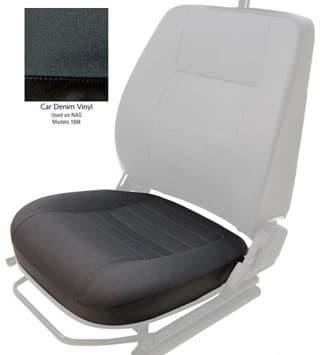 Seat Bottom Outer Front Defender NAS Car Denim Vinyl