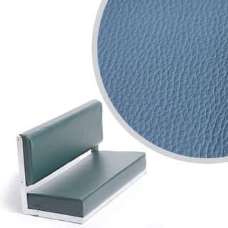 80 Bench Galvanised Blue