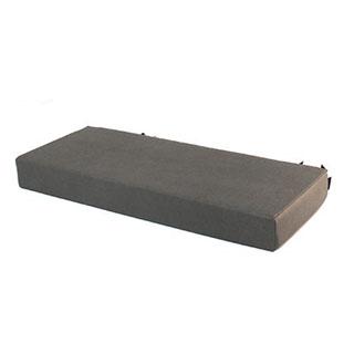Rear Bench Seat Bottom Cushion - Elephant Hide Vinyl