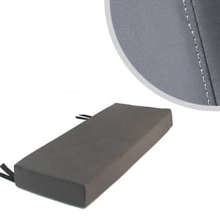 3 Man Bench Cushion Dark Grey Vinyl