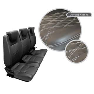 Premium High Back 2nd Row Seat - Full Seat Set - Diamond White Xs