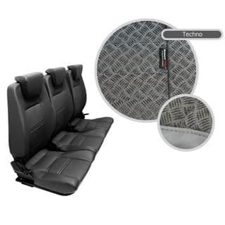 Premium High Back 2nd Row Seat - Full Seat Set - Techno