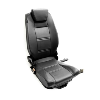 PREMIUM HIGH BACK 2ND ROW SEAT - CENTRE - BLACK VINYL