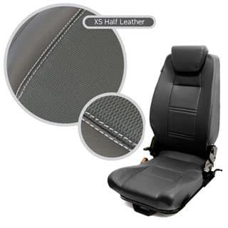 Premium High Back 2nd Row Seat - Centre - Xs Black Rack