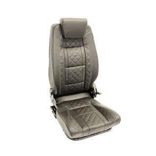Premium High Back 2nd Row Seat - Right Hand - Diamond Black Xs