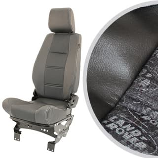 PREMIUM HIGH BACK 2ND ROW SEAT - RIGHT HAND - LAND ROVER LOGO BLACK