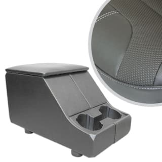 EXMOOR NON-LOCKING CUBBY BOX WITH TWIN CUP HOLDER FOR DEFENDER & SERIES - G4 DIMPLE
