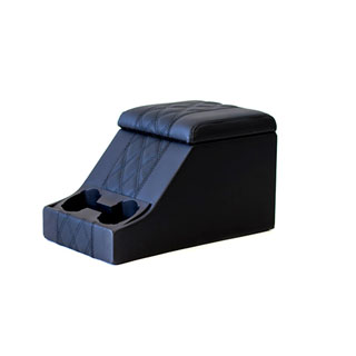 Premium Cubby Box in Diamond Black Xs