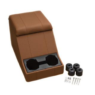 Premium Cubby Box - Defender and Series - Oxford Tan Vinyl