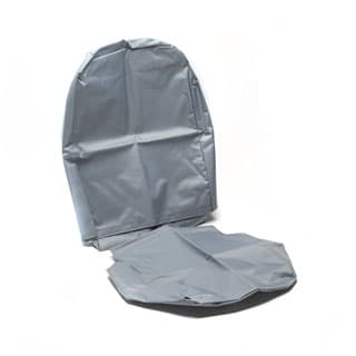 Nylon Waterproof Seat Cover Inward Facing Fold Up Seat Series-Defender Grey