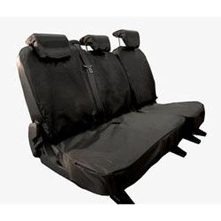 Nylon Waterproof Seat Covers 2nd Row 3-Seat Set Td4 Puma (Grey)