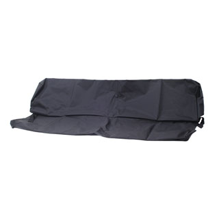 NYLON WATERPROOF SEAT COVER REAR 3-MAN BENCH SEAT SERIES-DEFENDER BLACK