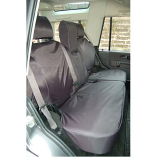 Nylon Waterproof Seat Covers Second Row 60/40 Seat Set Discovery-Ii Black