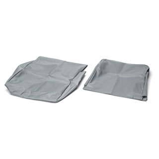 NYLON WATERPROOF SEAT COVER REAR JUMP SEAT DEFENDER GREY
