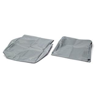 Nylon Waterproof Seat Cover Rear Jump Seat Defender Grey