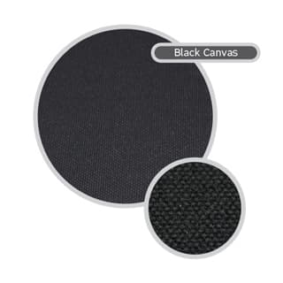 Canvas Seat Covers, 5 Seater Set, Discovery I, Black