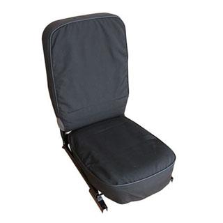 Canvas Seat Cover Front Center For Defender 1990-Onward - Black