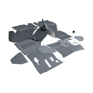 Premium Front Carpet Set For Defender 3.5/3.9L V-8 - Ebony