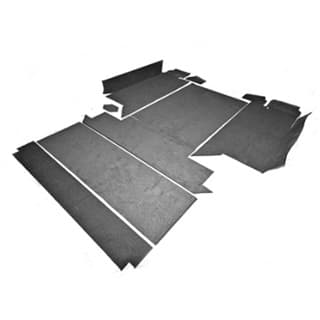 """Premium Carpet Set For 110"""" 2nd Row and Rear Body (Square Wheel Arches)"""