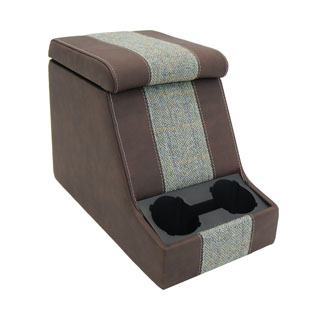 Premium Xl Cubby Box in Harris Tweed