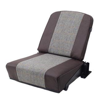 Rear Jump Seat - Harris Tweed