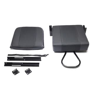 Rear Jump Seat, Xs Black Rack