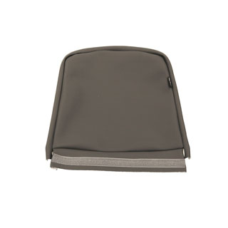 Seat Cover Set For Tip-Up Jump Seat -Dark Grey Vinyl