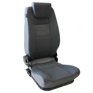 Lock & Fold Rear Seat (L/H) - Denim Twill