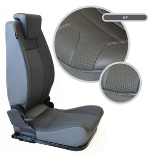 Lock & Fold Rear Seat (L/H) - G4 Style