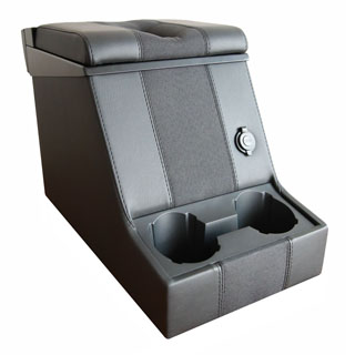 Premium Locing Cubby Box -Black Span Mondus Cloth
