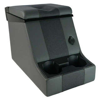 Premium Locking Cubby Box -Denim Twill Vinyl