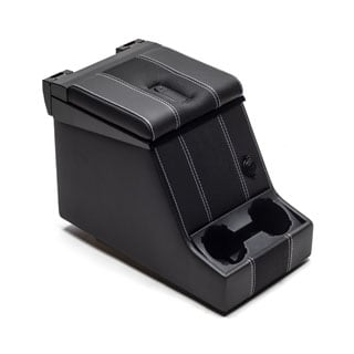 Premium Locking Cubby Box -Xs Black Rack Half Leather