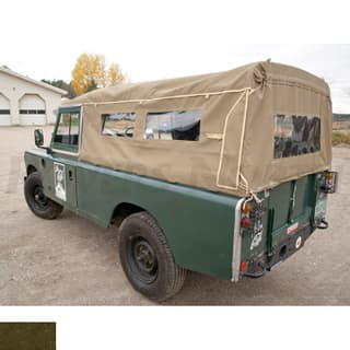 "CANVAS TOP 110"" FULL WITH SIDE WINDOWS KHAKI"