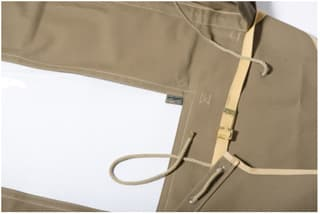 Rear Canvas Top For 130 Crew Cab With Side Windows, Sand