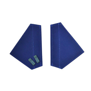 80  DOOR HANDLE FLAPS BLUE